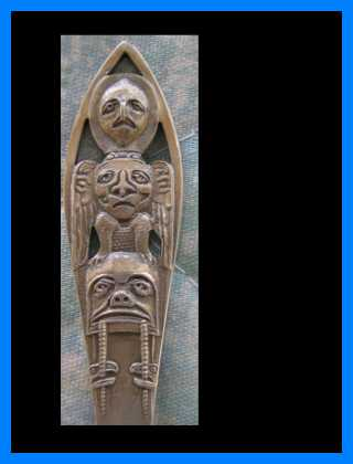 spoon alaska totem pole