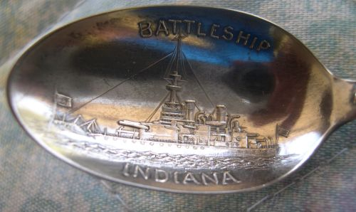 battleship indiana spoon