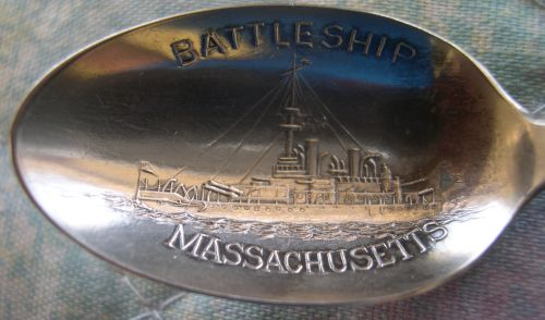 battleship massachusetts spoon