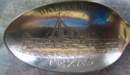 battleship texas spoon