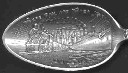 duluth train bridge ship spoon