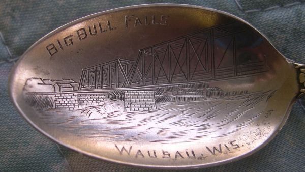bridge spoon Big Bull Falls, Wausau, Wisconsin