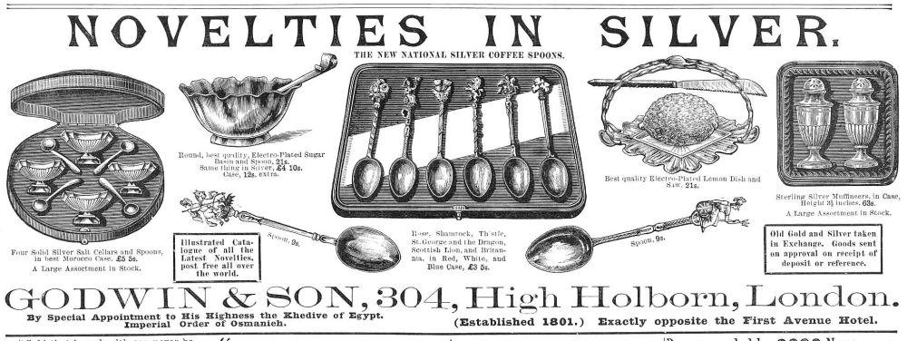 godwin jewelry spoon advertisement