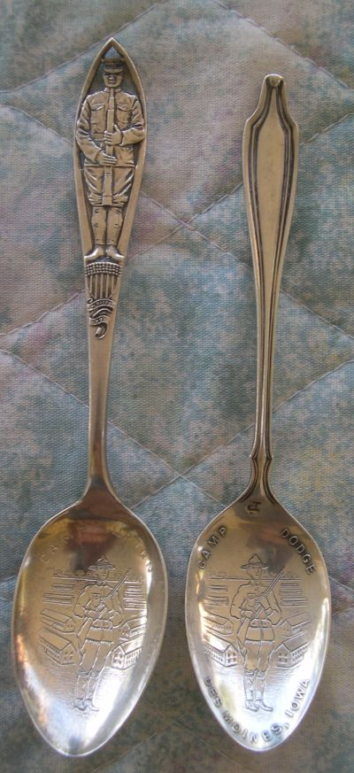 military camp spoons