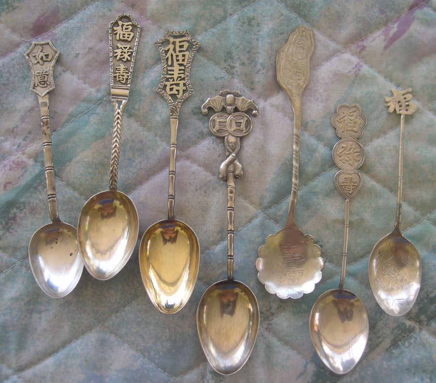 China good luck spoon
