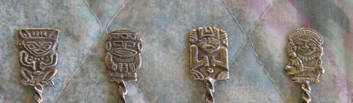 columbian spoon god finials