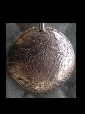 Vatican coin spoons