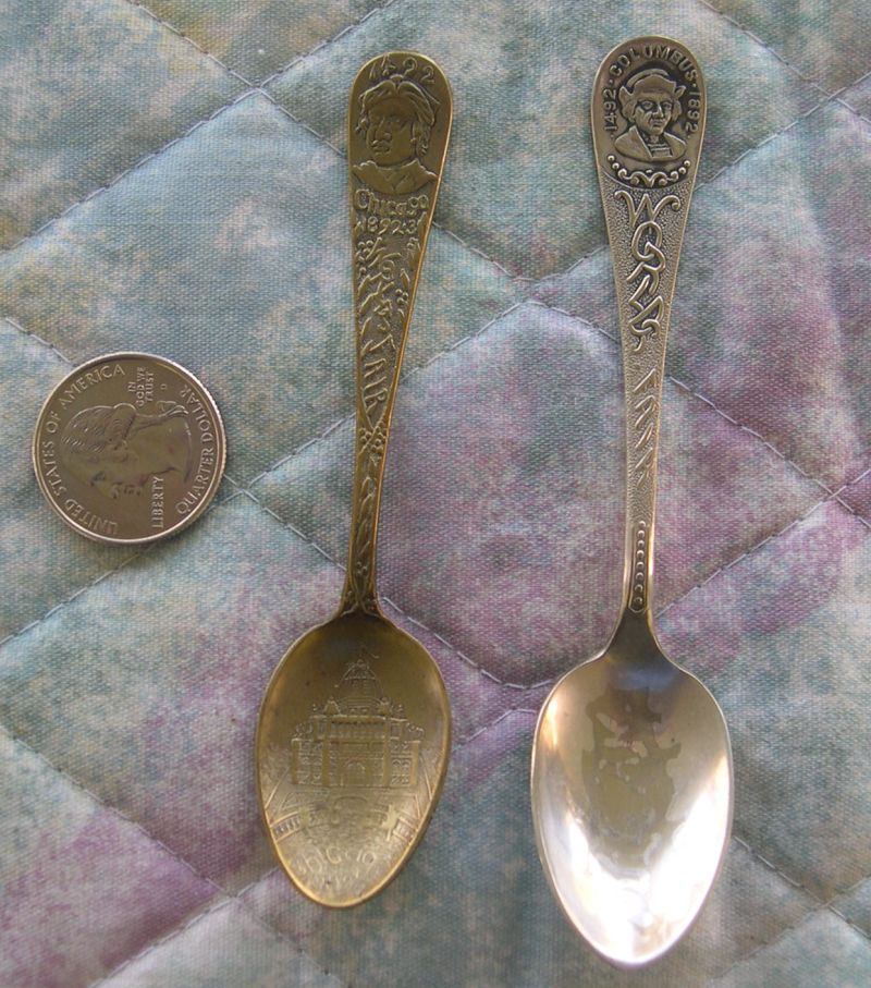 columbian world fair demi spoons