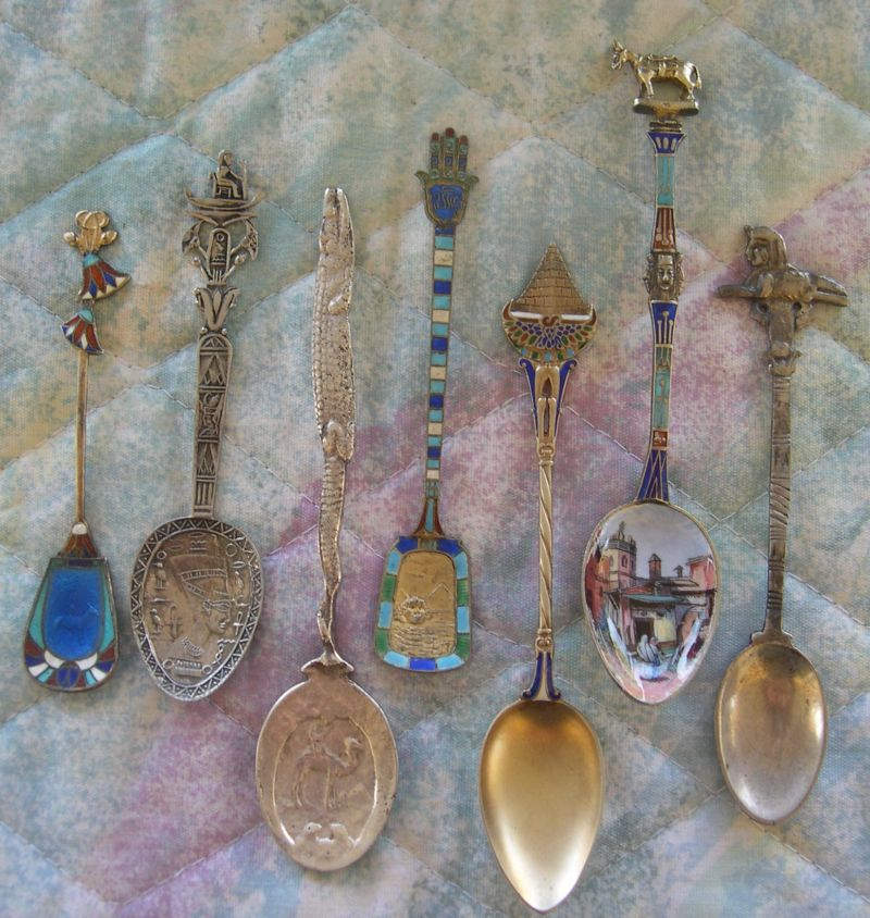 egyptian symbol spoons