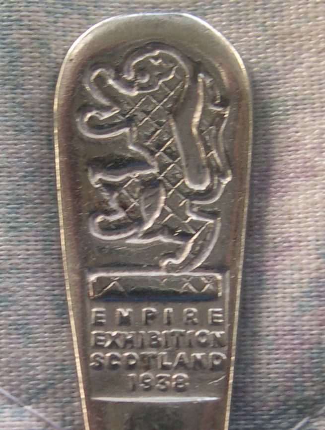 empire exhibition of Scotland spoon