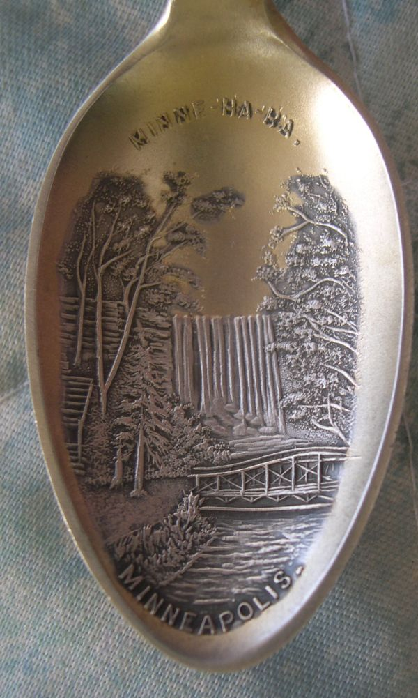 waterfall silver spoons