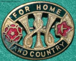 for home and country pin