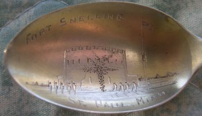 fort Snelling spoon
