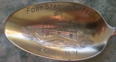 fort stanwix spoon
