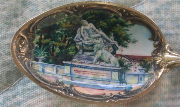 german nude sculpture spoon
