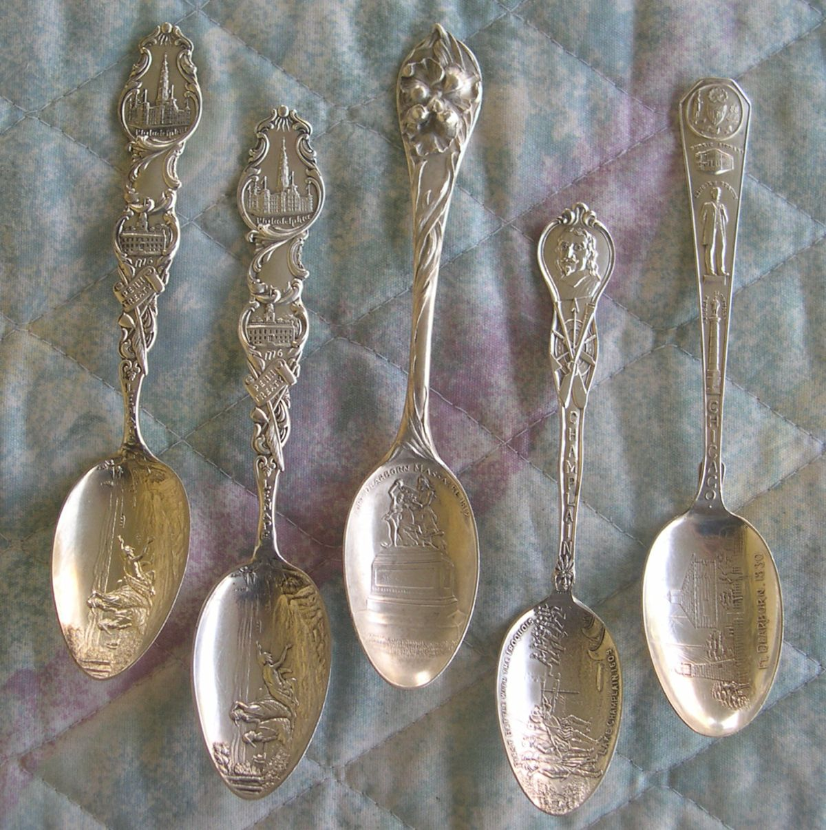 indian war spoons