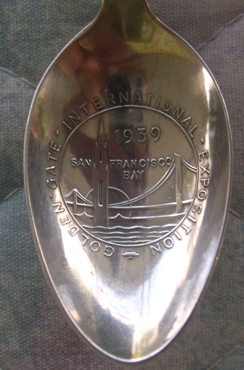 San Francisco 1939 spoon bowl