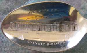 new york world fair exhibit spoon