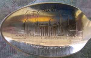 new york world fair government spoon