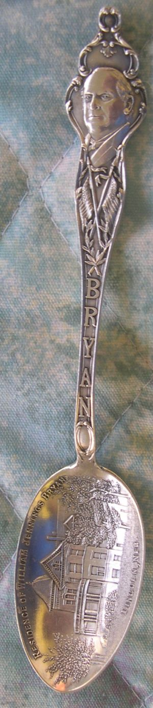 william jennings bryan spoon silver