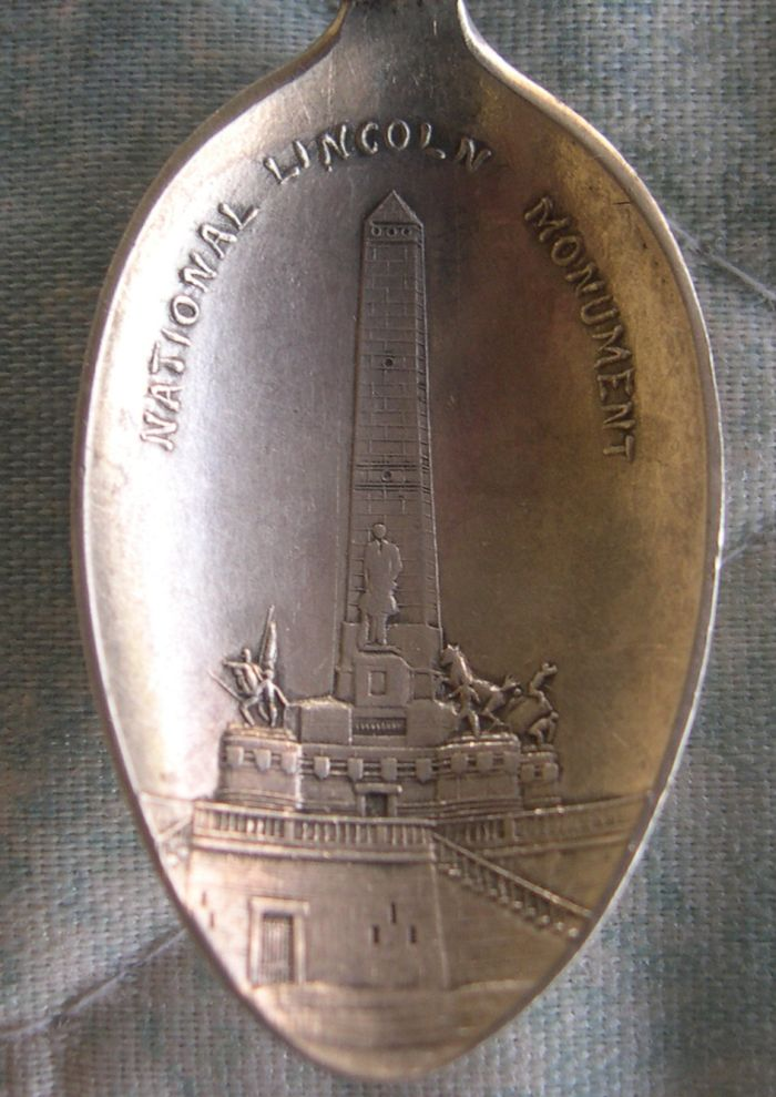 proposed Lincoln national monument spoon