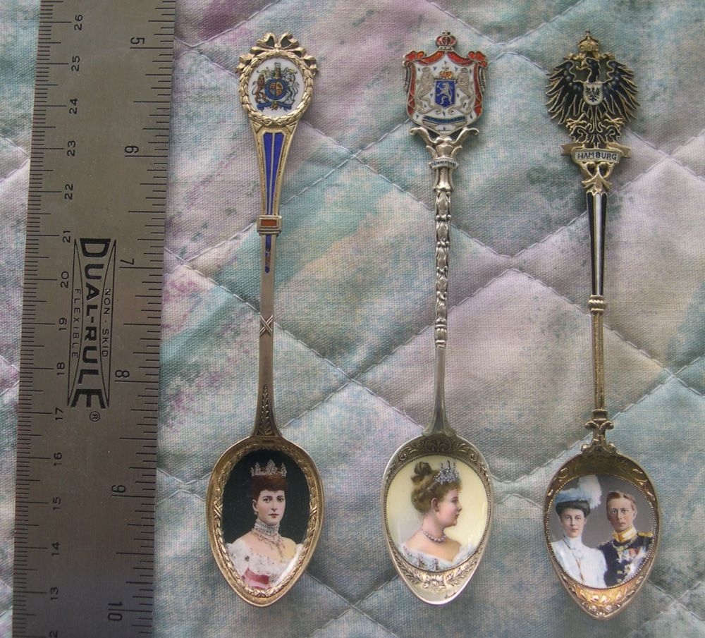 european royalty spoons