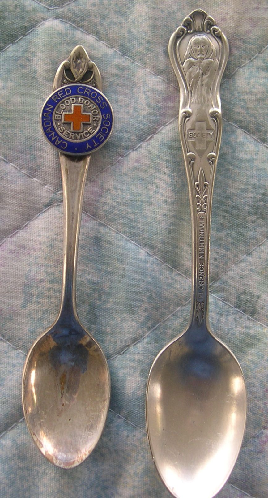 red cross spoons