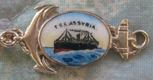 TSS Assyria ship spoon