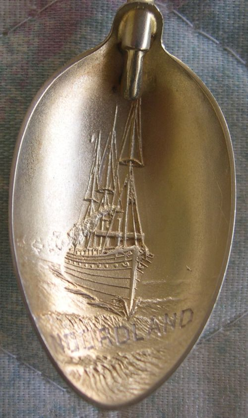 ss noorland ship spoon