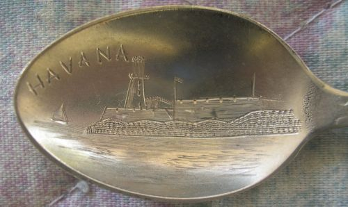 havana harbor spoon