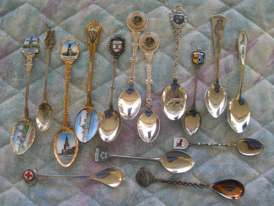 places on spoons