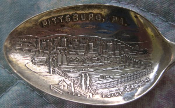 syline bowl Pittsburgh spoon