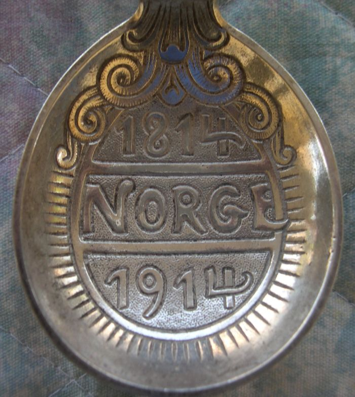norway independence spoon bowl