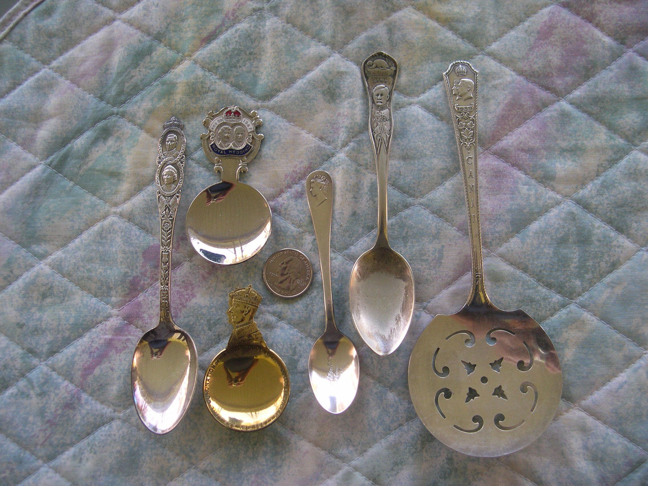 british royalty spoons